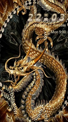 Golden Dragon Go Locker
