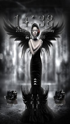 Gothic Angel Locker