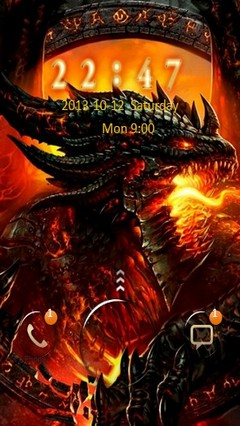 Fire Dragon Go Locker