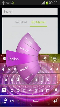 Keyboard Color Galaxy-release