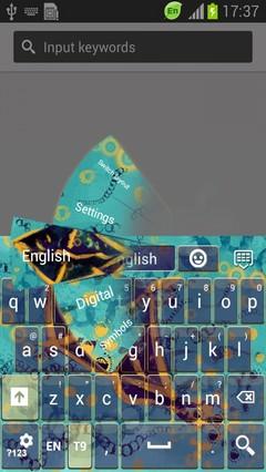 Fairytale Kite Keyboard-release