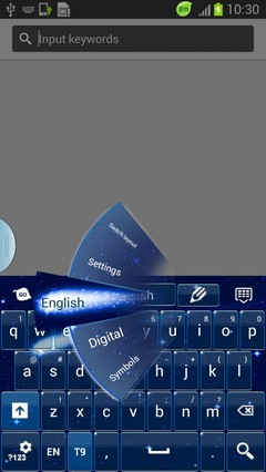 Space Keyboard