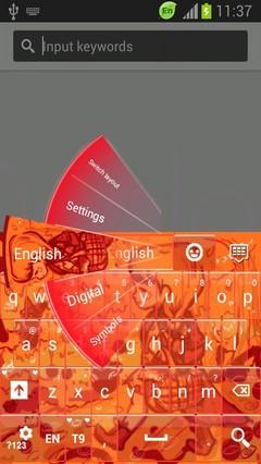 Red Riding Hood Keyboard