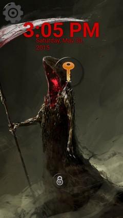 demon grim reaper locker
