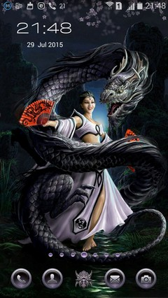 Girl and Dragon 22