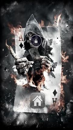 Joker Grim Reaper Locker