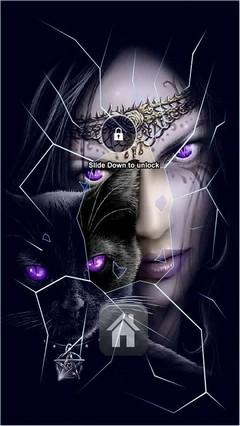 Pegan Cat Lock Screen