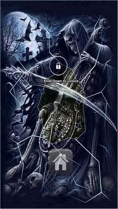 Deaths Music Lock Screen