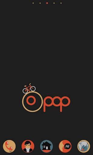 Pop GO LauncherEX Theme