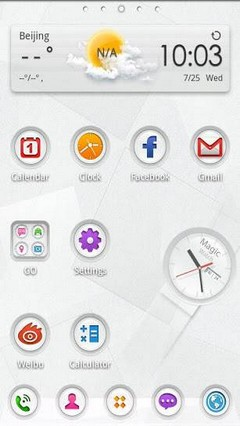 Magic Watch GO Launcher Theme 1.0