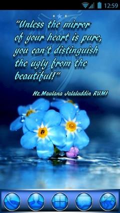 ATC 10 Inspiration Quote-Hz.Maulana Jalaluddin RUMI