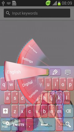 Girly Capricorn Keyboard-release