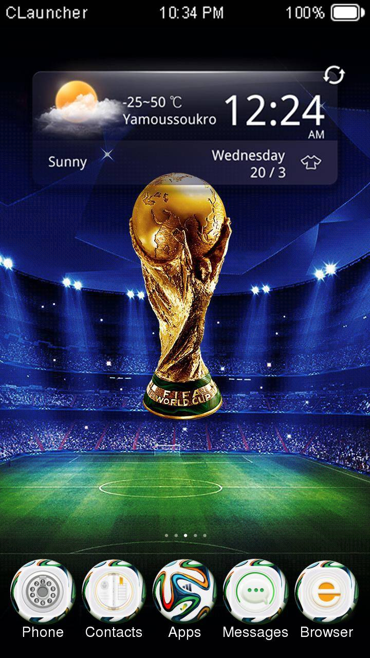 World Cup CLauncher Theme
