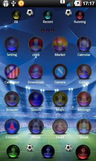Uefa Champions Leaugue 14 Beta theme