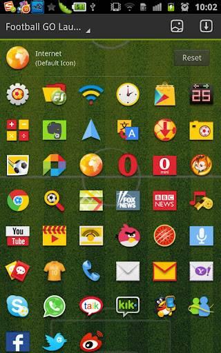 Football GO LauncherEX Theme