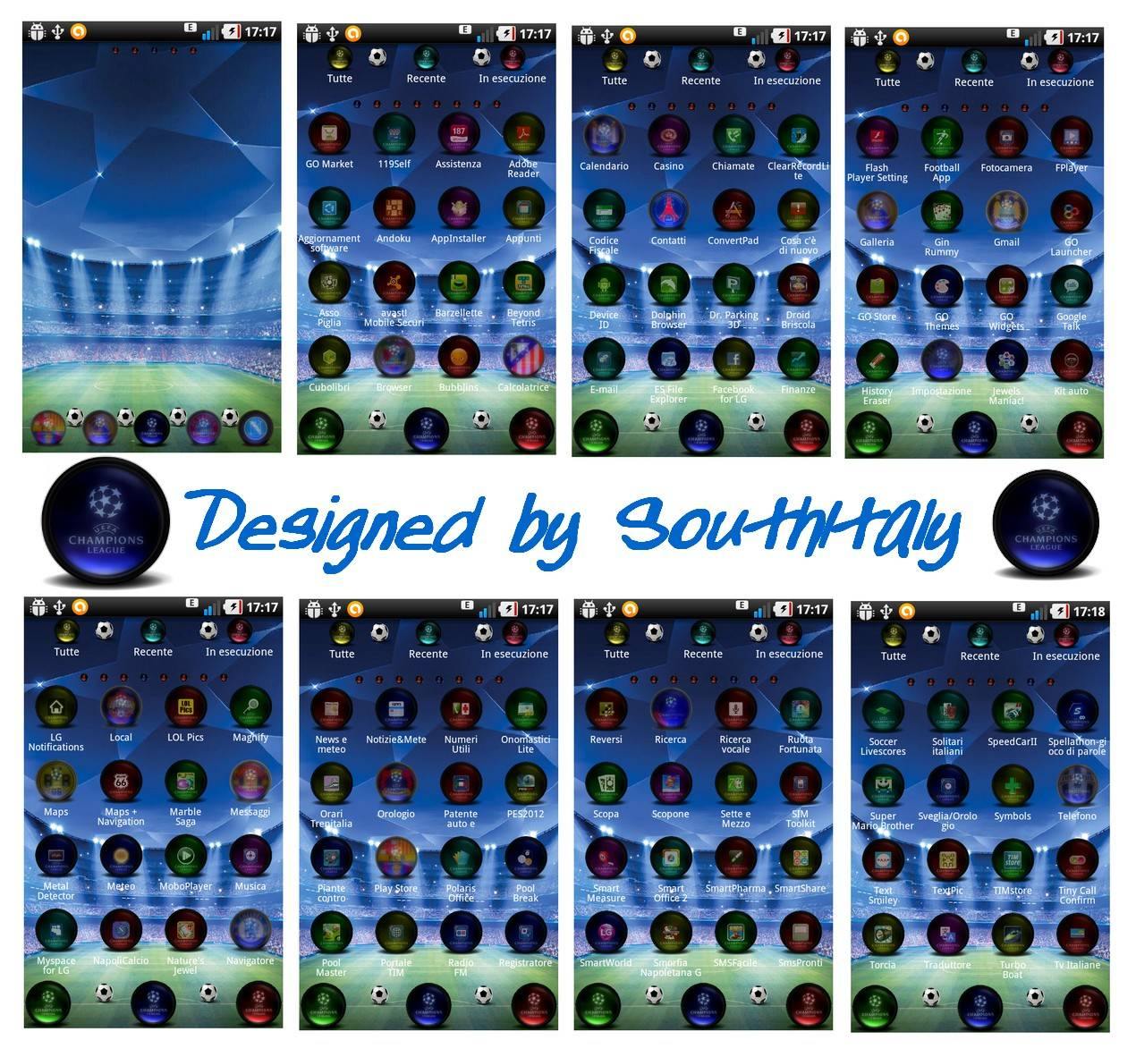 Uefa Champions Leaugue 14 Beta theme