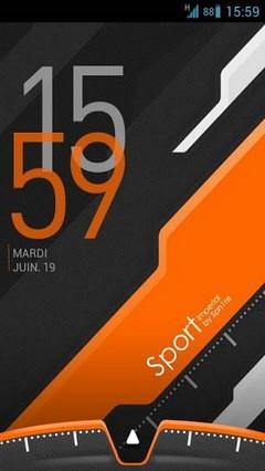 Sport GO Launcher EX theme