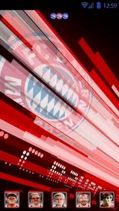 Bayern Munich Go Launcher Theme