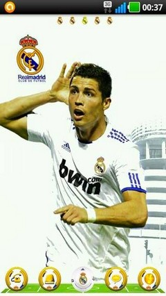 CR7 Go Launcher Theme
