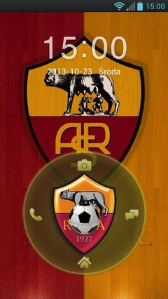 FC Roma GO Locker Theme