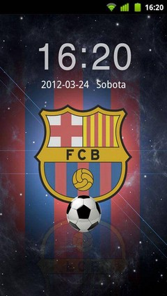 FC Barcelona GO Locker Theme