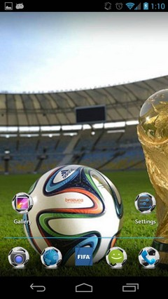 Fifa World Cup 2014 Android Theme
