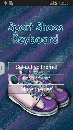 Sport Shoes Keyboard