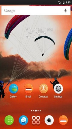 Paragliders air GO Launcher Theme