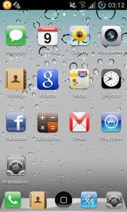 GO Launcher Iphone 4