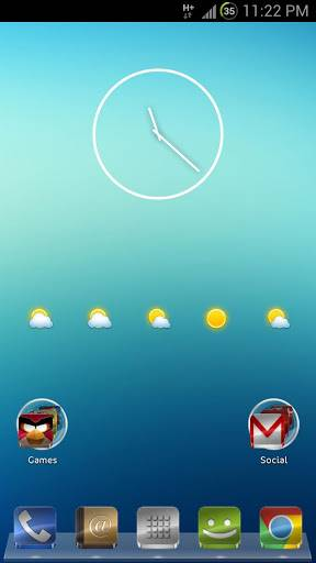 GLASS APEX/NOVA/GO THEME v2.7 APK
