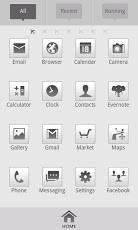 C.Grey Go Launcher theme