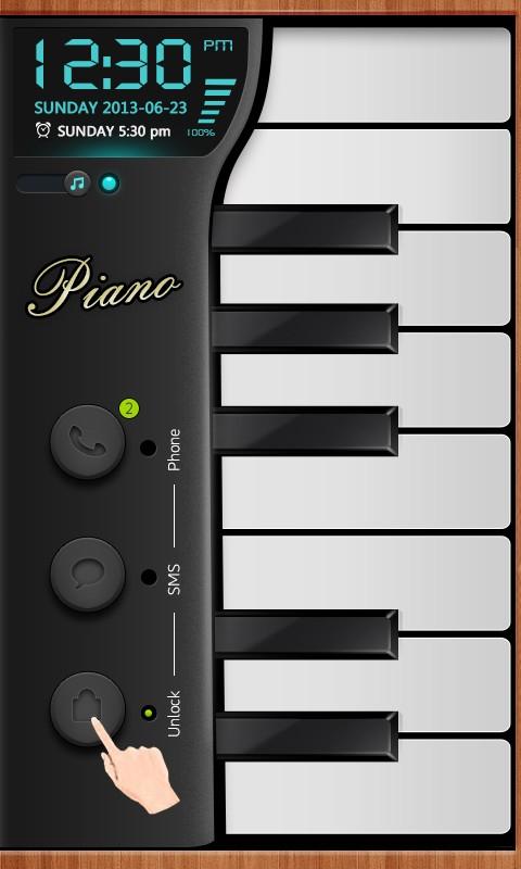 Piano - GO Locker Theme