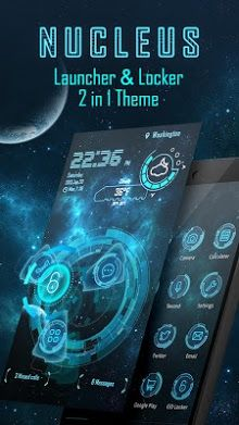 Nucleus 3D Launcher & Locker