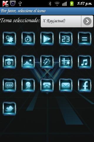 X Ray GO LauncherEX Theme v1.0