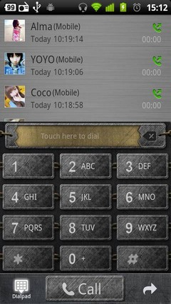 Metal GO Contacts Theme 3.0.0