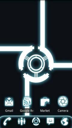Glow Go Launcher Ex Theme