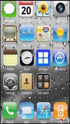 iphone 4s Go Launcher