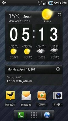 Regina Launcher Android Theme