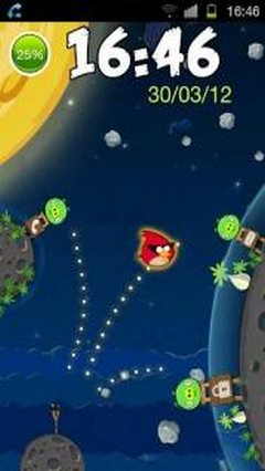 Angry Birds in Space Go Locker