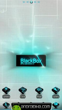 Blackbox GO LauncherEX Theme v1.0