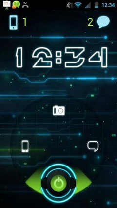 Future Glow Go locker Theme PRO