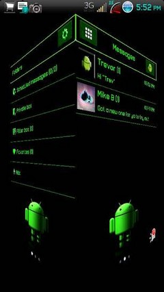 go sms android theme