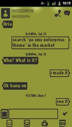 Go SMSPro 1998 Theme
