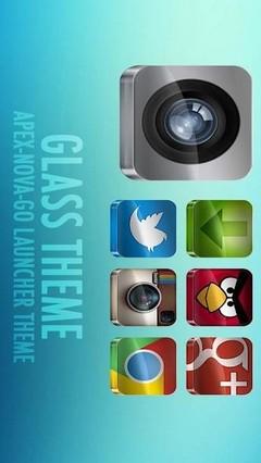 GLASS APEX/NOVA/GO THEME v2.7 APK