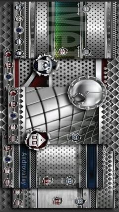 Silver Cube 4 Apex Launcher
