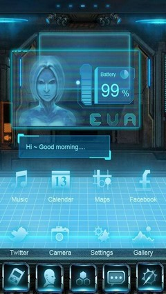 EVA Super Theme GO Launcher EX