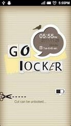 GO LOCKER PAPER-CUT THEME