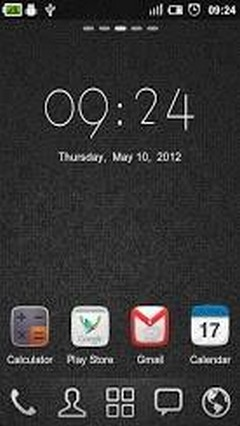 GO CLOCK WIDGET THEME