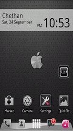 iphone graphite theme