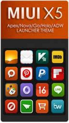 MIUI X5 Android theme